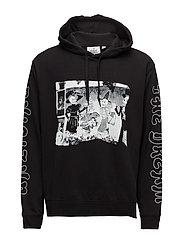 Pullover hood Skull party - BLACK