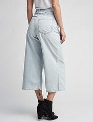 Cheap Monday - Abstract trousers - broeken met wijde pijpen - pale blue - 3
