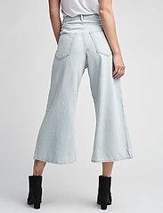 Cheap Monday - Abstract trousers - broeken met wijde pijpen - pale blue - 4