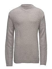 Challenge knit - GREY MELANGE