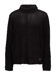 Ignorant knit - BLACK