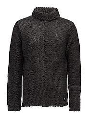 Ignorant knit - DARK GREY/BLACK