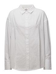 Seize poplin shirt - White