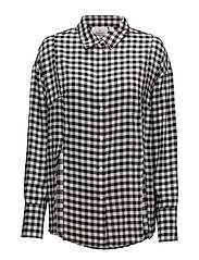 Seize shirt Gingham check - Black