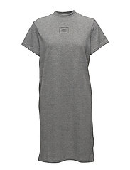Smash dress Square logo - GREY MELANGE