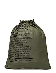 Rapid gym bag Army logo - Bleached olive