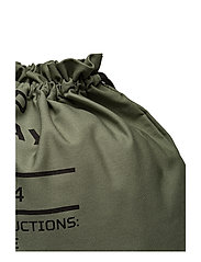 1bbc4fcc5a Cheap Monday Rapid Gym Bag Army Logo (Bleached Olive)