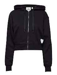 Zip hood - BLACK