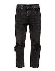 In Law Black Smoke Jeans Comfort Fit Svart CHEAP MONDAY