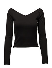 Vee top - BLACK