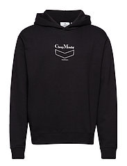 Pullover hood Chevron CM - BLACK