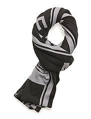 Cheap scarf Logo - BLACK