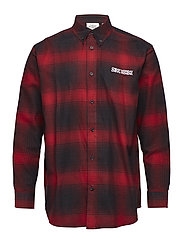 Clean conduct shirt - DK RED