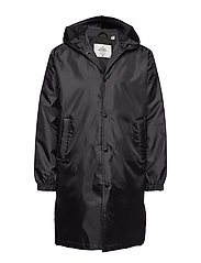 Core coat Echologo - BLACK