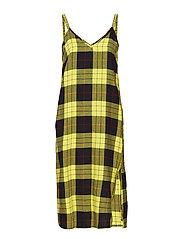 Keep dress Tartan - YELLOW