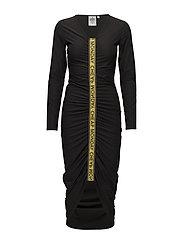 Liquid dress - BLACK