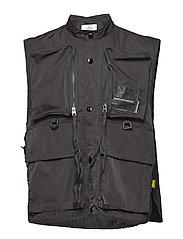 Service vest - BLACK