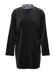 Shutter dress - BLACK