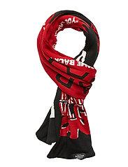 Cheap scarf Horror love - BLACK
