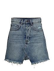 Shrunken Skirt Hex Blue - BLUE