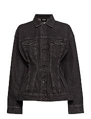 Jinx Jacket Black Crinkle - BLACK