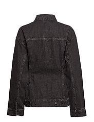 Jinx Jacket Black Crinkle