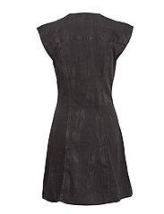 Occult dress crinkle black