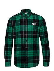 Fit Shirt Grass Green Tartan