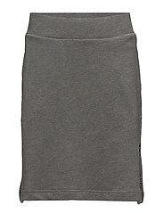 Logo tape skirt - GREY ML