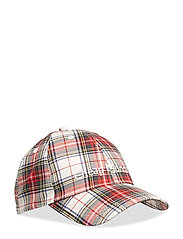 CM baseball cap Check - PUNK RED