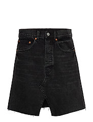 Shrunken Skirt Dust Black - BLACK
