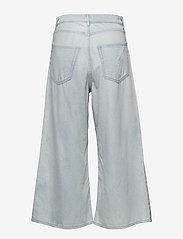 Cheap Monday - Abstract trousers - broeken met wijde pijpen - pale blue - 2