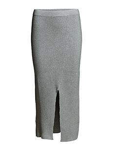 Rive knit skirt - GREY MELANGE