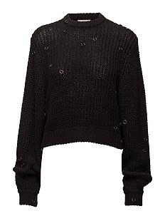 Provoke knit Rings - BLACK