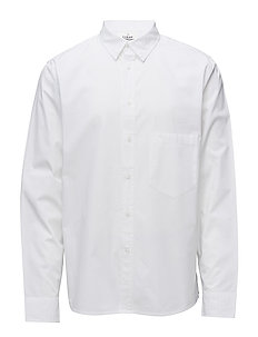 Arced shirt - WHITE