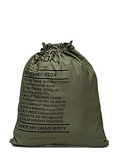 Rapid gym bag Army logo - Bleached olive