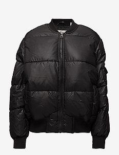 Risky bomber - bomber jackets - black