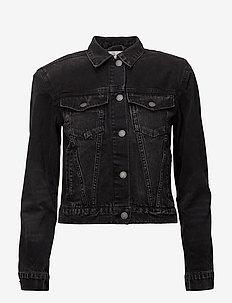 Power JKT Syntax Black - kurtki dżinsowe - black