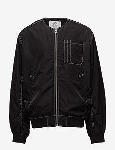 Techie jacket Hacker error - BLACK