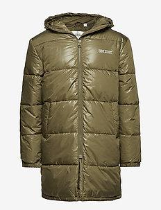 Cocoon jacket Small echo - KHAKI GREE