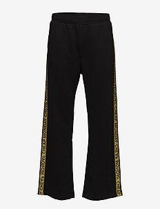 Fast logo trousers - BLACK