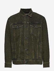 Upsize Jacket Tint OD - kurtki dżinsowe - black