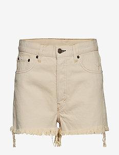 Sound Shorts Dirty White - jeansowe szorty - white