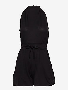Smile playsuit - BLACK