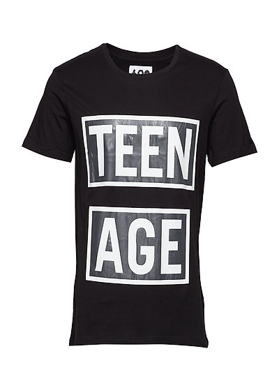 Standard Tee Teenage - BLACK