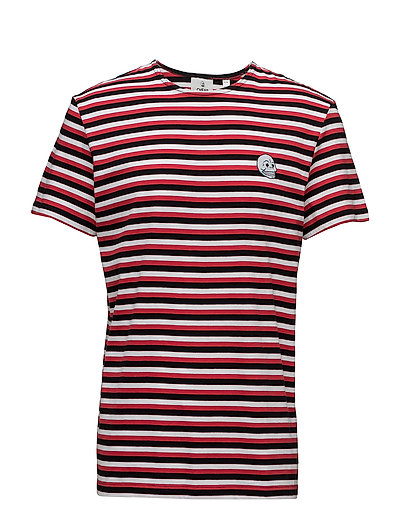 Standard prep tee Small skull - 3 COLOR PROP STRIPE