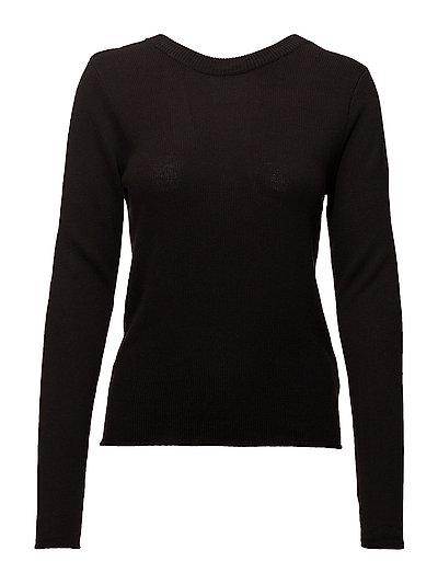 Seen knit - BLACK