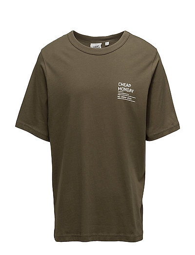 Boxer tee Focus text - Dark olive