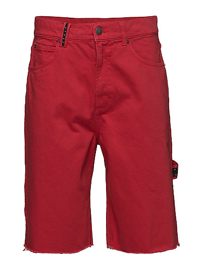 Cred Shorts OD Red - Red denim