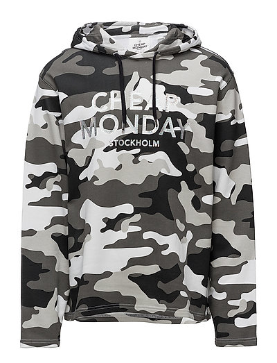 Cheap Monday Pullover 2 hood After camo L